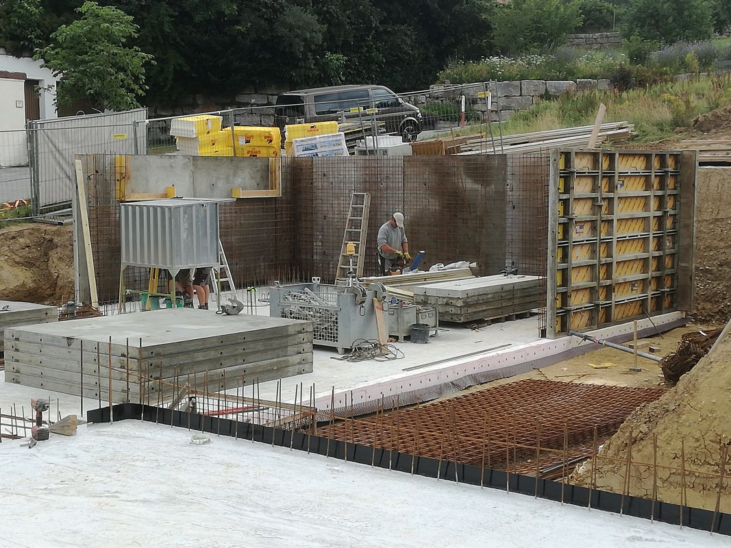 Baubeginn In Achdorf Ist Erfolgt